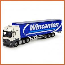 Wincanton Mercedes Gigaspace 6X2 With Curtainside Trailer
