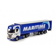 Maritime New Generation Scania With Curtainside Trailer