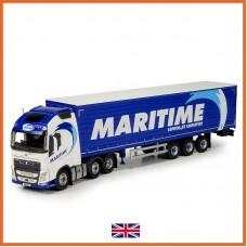 Maritime Volvo FH04 Globetrotter With Container Trailer