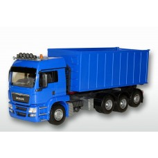 MAN TGS 8x4 Blue Cab Blue Roll Off Container