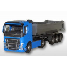 Volvo FH04 4x2 Blue Cab With 3 Axle Tipper Trailer