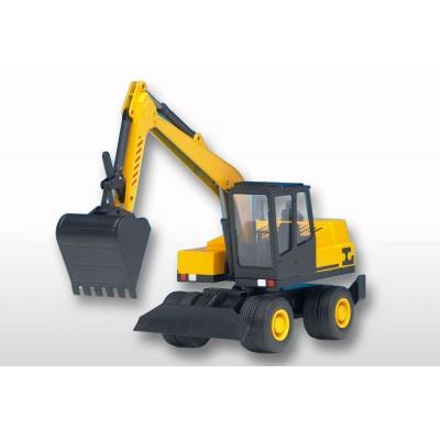 Yellow Wheel Excavator 1:25 Scale