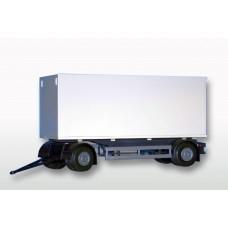2 Axle White Box Trailer